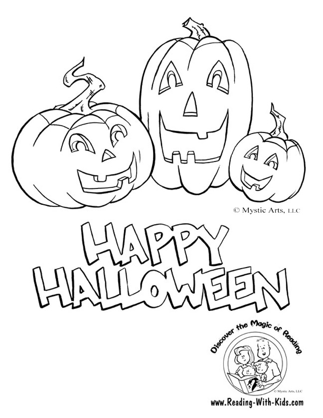 halloween color by letter jack o lantern coloring page halloween ...