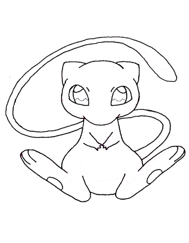 Raichu Coloring Pages