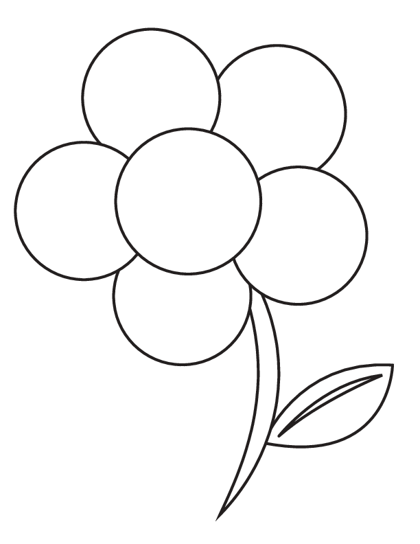 Printable Flower Coloring Page - wikiHow