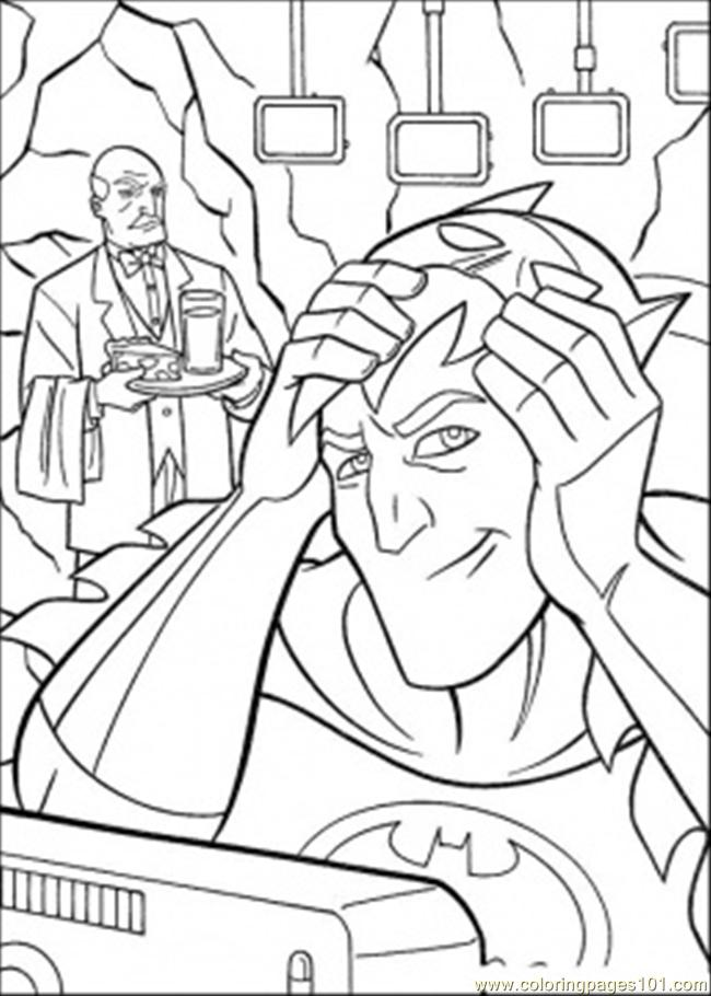 Mã scara Batman! Colouring Pages (page 2)