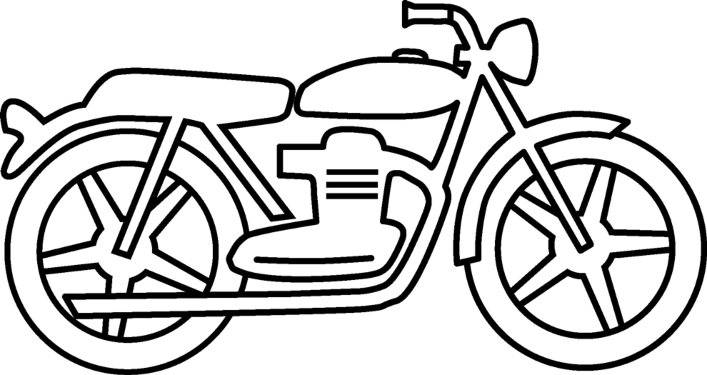 Moto Da Disegnare E Colorare Az Colorare
