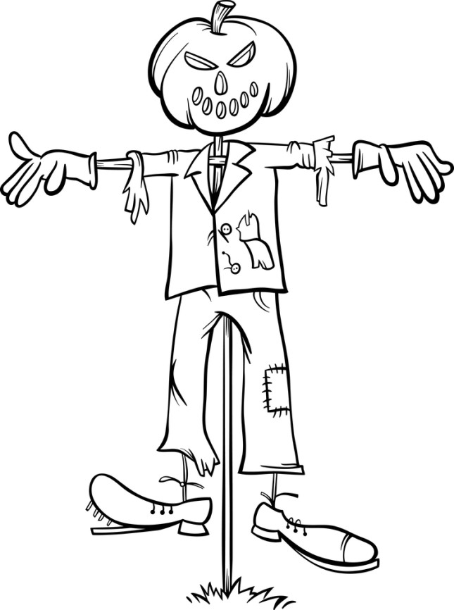 Free Halloween Coloring Pages moreover Spooky Halloween Tree Wall Quotes Decal together with Halloween Skeleton   Clipart furthermore Clipart RiGqeAAiL together with Disegni Di Halloween Per Bambini. on scary fall clip art