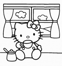 hello kitty giochi da colorare