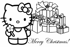 disegni da colorare online hello kitty