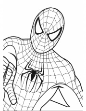 disegni da colorare spiderman 2